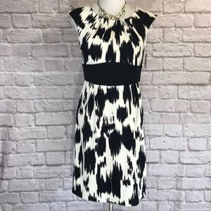 Alyx Black/white dress, sleeveless, NWT, Size 8
